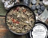 Vitamins Minerals Herbal Loose Leaf Tea Blend