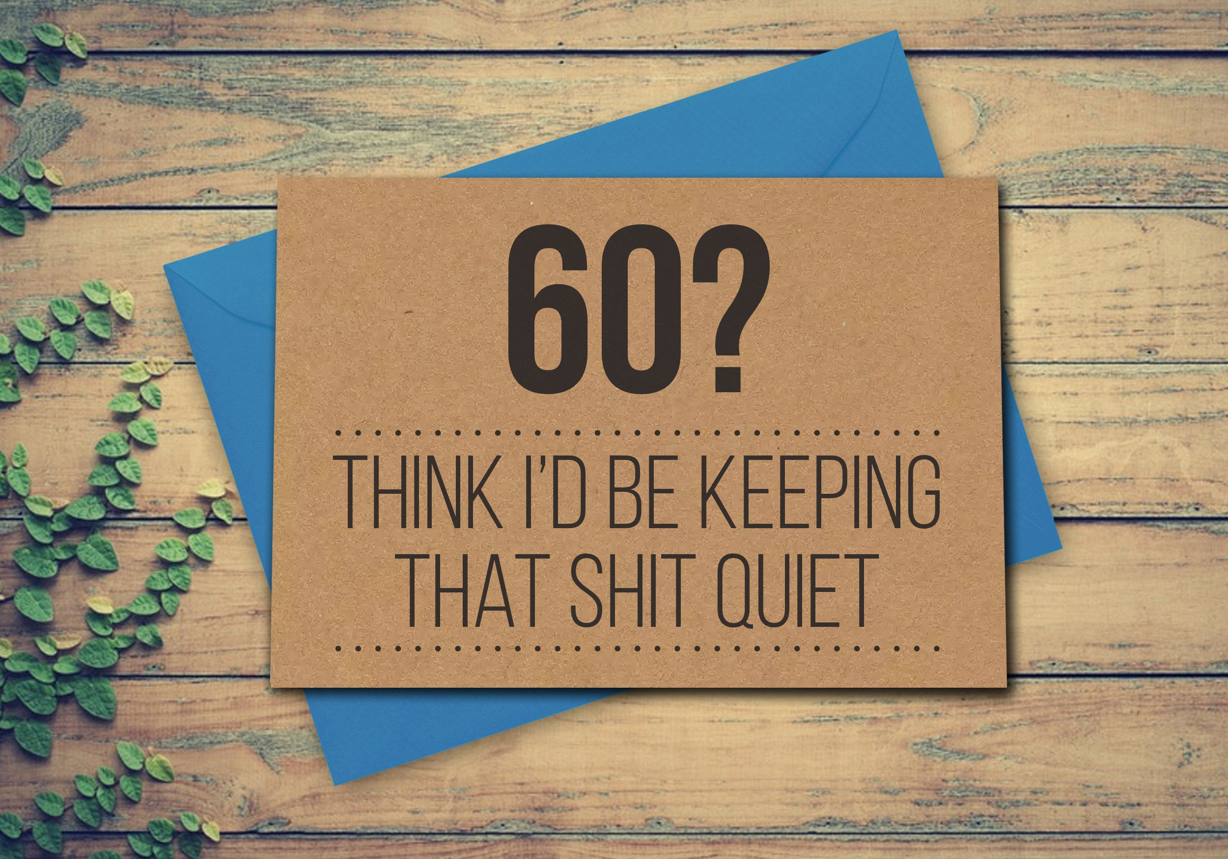 60ste Verjaardag Card 60e Kaart 60 Card Wenskaart Voor 60 Jaar Etsy