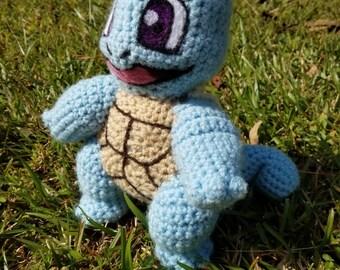 Crochet Squirtle Plush