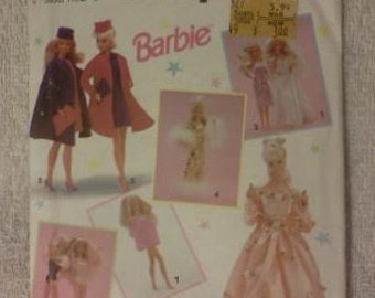 Simplicity Barbie Doll Sewing Pattern 7601