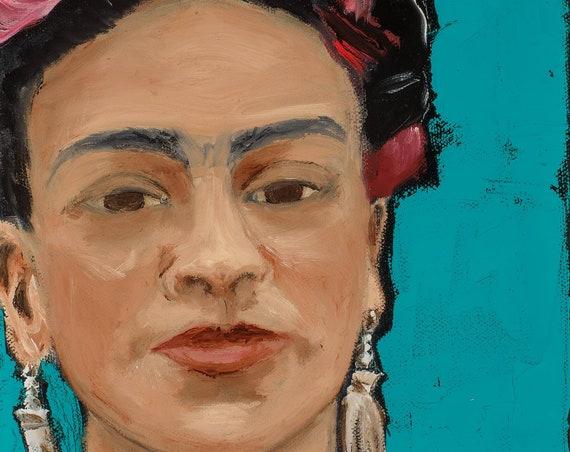 Frida Kahlo--Hand-Signed Print