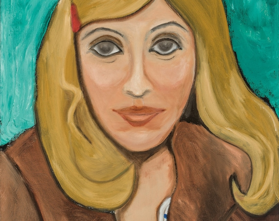 Portrait of C.D. as Margot Tenenbaum--8x10 Hand-Numbered Print