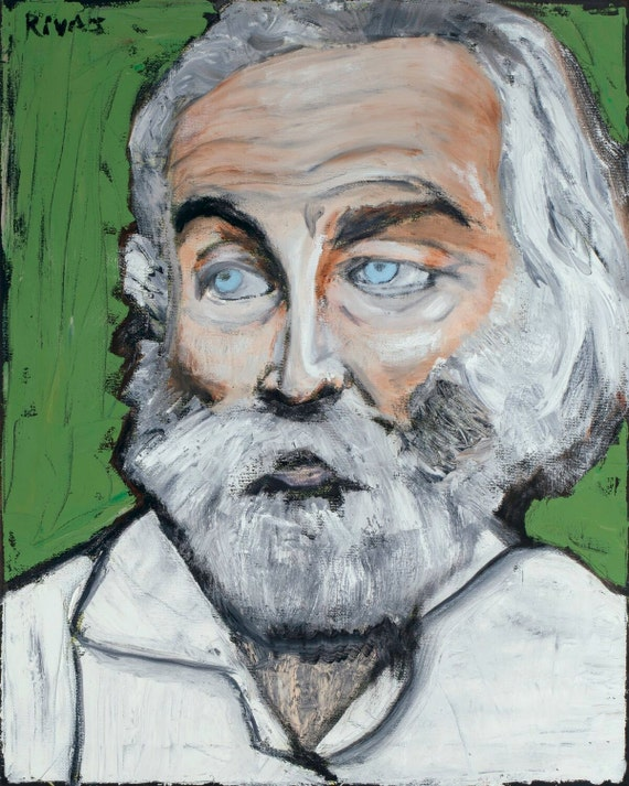 Walt Whitman--8x10 Hand-Numbered Print