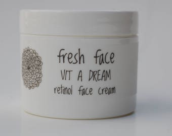 fresh face VIT A DREAM retinol face cream