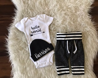 3c81c611b Baby boy coming home outfit