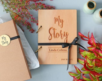 Life Journal | Personalized | My Story Journal to help document your life story | Designed & Made in New Zealand