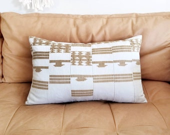 "14""x23"" Aso oke pillow cover"