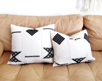 African embroidered hausa pillow cover in various sizes