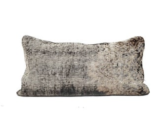 "12""×24"" Turkish rug pillow cover"