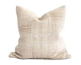 "19""& 21"" Turkish hemp rug pillow cover"
