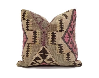 "16"" Kilim pillow cover"