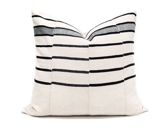 "18""×20"" mudcloth pillow cover"