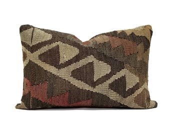 "16""x24"" Kilim pillow cover"