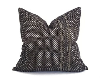 """23""""×24"""" black Chinese wedding blanket pillow cover"""