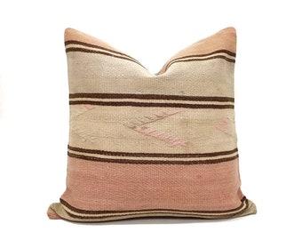 "20"" Turkish kilim pillow"