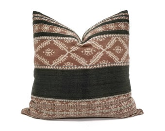 "20"" Indonesian ikat pillow cover"