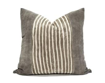 African textile pillows