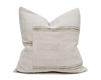 """20"""" Turkish hemp rug pillow cover"""