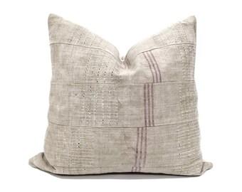 """19.5"""" Aso oke pillow cover"""
