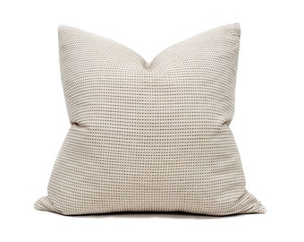 """22"""" muted terra cotta embroidered pillow cover"""