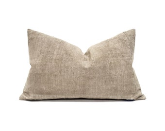 "13""×20"" sand Chinese cotton pillow cover"