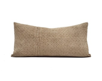 """12""""×23"""" camel Chinese wedding blanket pillow cover"""