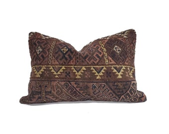 "16""×24"" Turkish rug pillow cover"