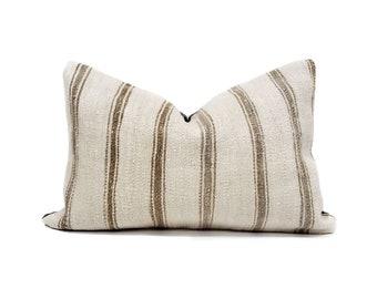 """16""""×24"""" Turkish hemp rug pillow cover"""