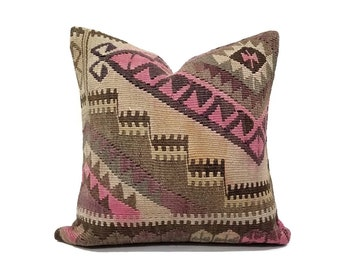 "18"" Kilim pillow cover"