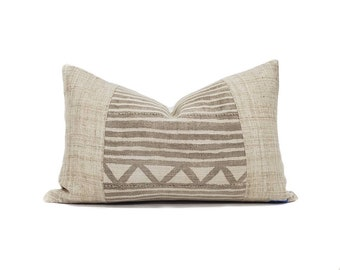 Vintage mudcloth pillows