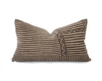 Vintage mudcloth pillows