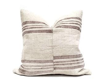 """24"""" Turkish hemp rug pillow cover"""
