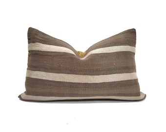 "16""×24"" Turkish kilim rug pillow cover"