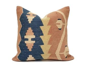 "16"" Kilim pillow cover"