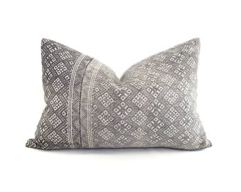 Various sizes grey Chinese wedding blanket pillow cover