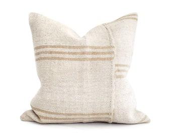 """19""""& 21"""" Turkish hemp rug pillow cover"""
