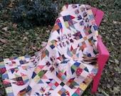 Bear Scraps scrap quilt pattern