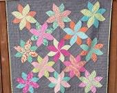 Dazzled a modern quilt pattern