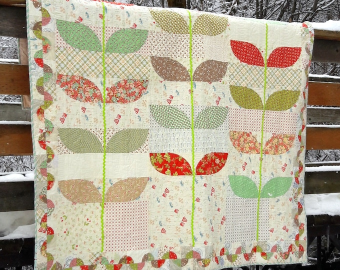 Divine, applique quilt pattern