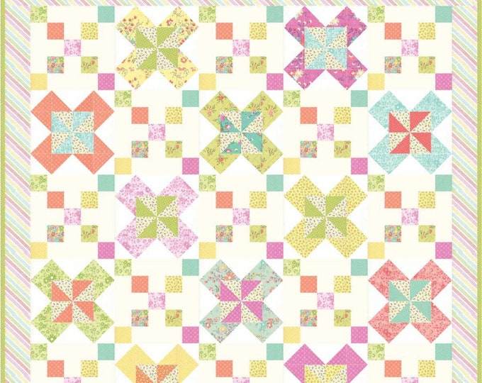Posy Path pdf quilt pattern