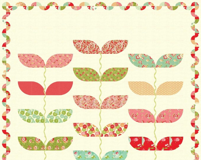 Divine, applique quilt pattern