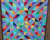 Sunshine on a Cloudy Day a pdf quilt pattern