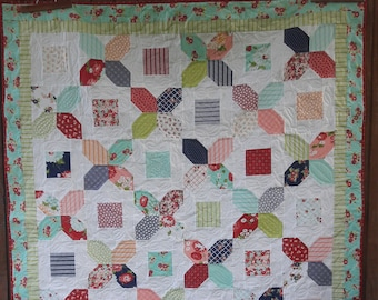 A Bushel and A Peck charm quilt pattern