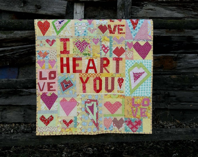 Crazy Love, a Free Form PDF Quilt Pattern