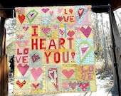 Crazy Love, a Free Form Scrap Quilt Pattern