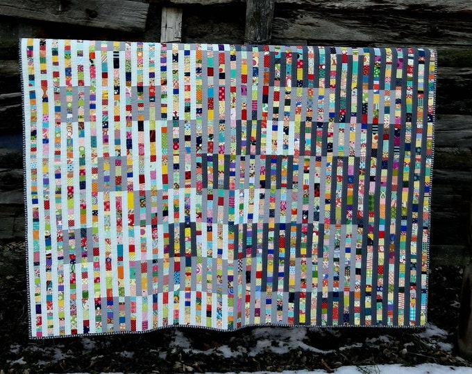 Gradation Modern Scrap PDF Quilt Pattern