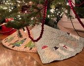 Let it Snow/ Oh Christmas Tree Reversible Tree Skirt