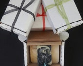 Set of 3 All Natural Soap Mini Sampler gift set with essential oils and botanicals