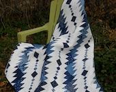 Rhythm & Blues masculine pdf quilt pattern,