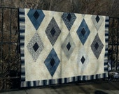 Crystallized quilt pattern